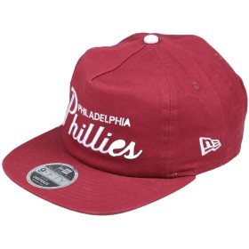 《送料無料》NEW ERA メンズ 帽子 ボルドー M/L コットン 100%