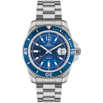 【85%OFF】430-H Diver Professional Stahl blau ラウンド ダイバーズウォッチ ブルー