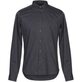 《セール開催中》SAVINI メンズ シャツ ダークブルー 39 コットン 100%