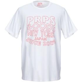 《送料無料》PRPS メンズ T シャツ ホワイト L コットン 100%