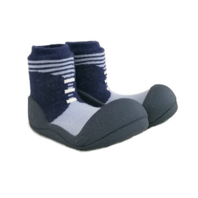 Attipas 快樂學步鞋 ASBO01 英倫紳士藍
