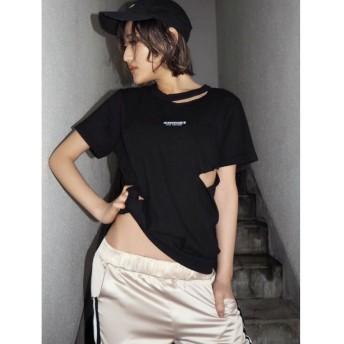 ジェイダ GYCODE Tシャツ レディース ブラック F 【GYDA】