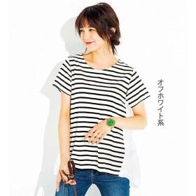 [マルイ] バックチュールデザインカットソーチュニック/ジーラ バイ リュリュ(ファッション)(RyuRyu)