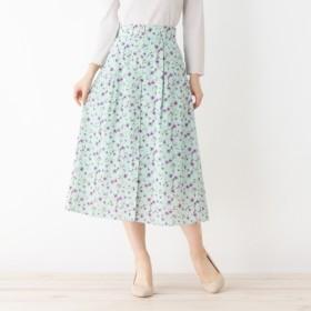 [マルイ]【セール】【洗える】レトロフラワースカート/オペークドットクリップ(OPAQUE. CLIP)