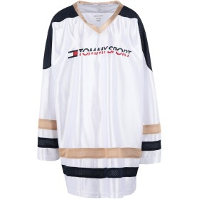 《セール開催中》TOMMY SPORT レディース T シャツ ホワイト XS ポリエステル 100% ARCHIVE LONGSLEEVE T