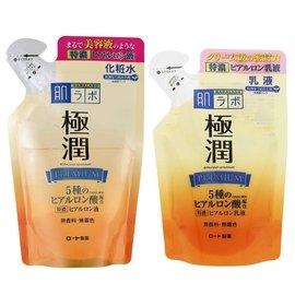 ROHTO 肌研 極潤 特濃保濕化妝水170ml / 乳液140ml 補充包