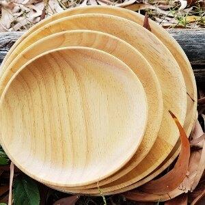 美麗大街【107051608】橡膠木 原木圓盤組 4個一組 (中款)