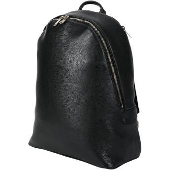《セール開催中》PAUL SMITH メンズ バックパック&ヒップバッグ ブラック 牛革 100% MEN BAG BKPK MSTRP