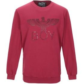 《期間限定 セール開催中》BOY LONDON メンズ スウェットシャツ ボルドー S コットン 100%