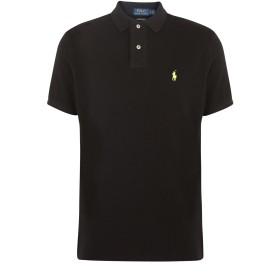 《セール開催中》POLO RALPH LAUREN メンズ ポロシャツ ブラック XS コットン 100% POLO BLACK/10ANT