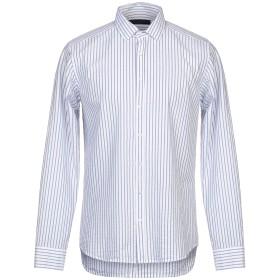 《期間限定 セール開催中》MESSAGERIE メンズ シャツ ホワイト 41 コットン 100%
