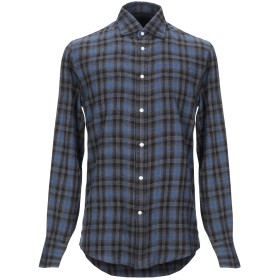 《セール開催中》DEPERLU メンズ シャツ グレー M コットン 100%