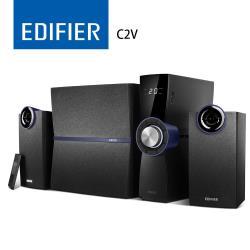 EDIFIER C2V 2.1聲道喇叭-黑