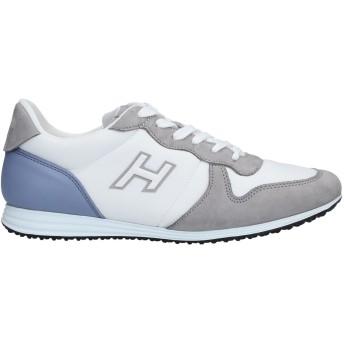 《セール開催中》HOGAN メンズ スニーカー&テニスシューズ(ローカット) グレー 6.5 革 / 紡績繊維