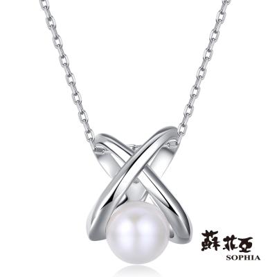 蘇菲亞SOPHIA 珍珠項鍊-伊莉絲系列之五 珍珠鍊