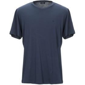 《9/20まで! 限定セール開催中》DIESEL メンズ T シャツ ダークブルー S コットン 100%