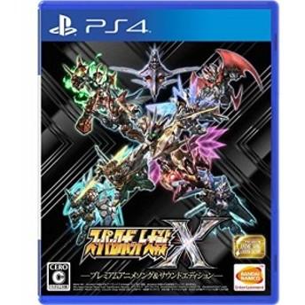 中古 「PS4」スーパーロボット大戦X プレミアムアニメソング&サウンドエディション「早期購入特典」スーパーロボット大戦X「早期購入4大