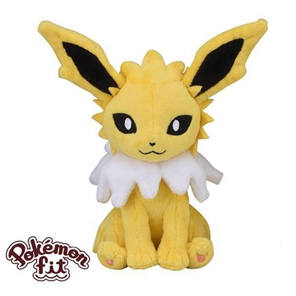 雷伊布 雷精靈 絨毛玩偶 娃娃 Pokemon Fit 寶可夢 神奇寶貝 日本正品 該該貝比日本精品