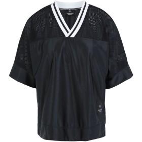 《期間限定セール開催中!》CALVIN KLEIN PERFORMANCE レディース T シャツ ブラック XS ポリエステル 100% RELAXED SS TEE
