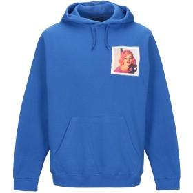 《セール開催中》BASTILLE メンズ スウェットシャツ ブルー L コットン 100%