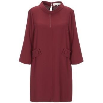 《セール開催中》L' AUTRE CHOSE レディース ミニワンピース&ドレス ボルドー 40 ポリエステル 100%