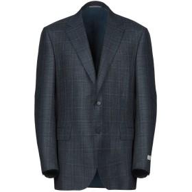 《期間限定セール開催中!》CANALI メンズ テーラードジャケット ブルー 56 ウール 68% / シルク 20% / 麻 12%