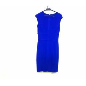 ラルフローレン RalphLauren ドレス サイズ2155/84A レディース ブルー LAUREN/DRESS【中古】