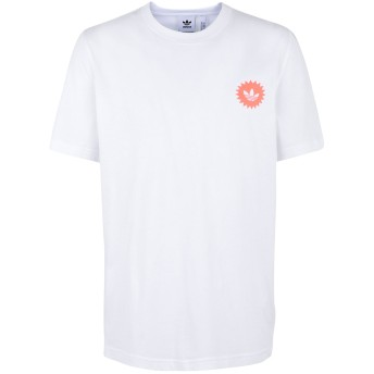 《セール開催中》ADIDAS ORIGINALS メンズ T シャツ ホワイト S コットン 100% BODEGA POSTER T