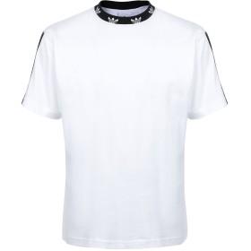 《セール開催中》ADIDAS ORIGINALS メンズ T シャツ ホワイト S コットン 100% TREFOIL RIB TEE