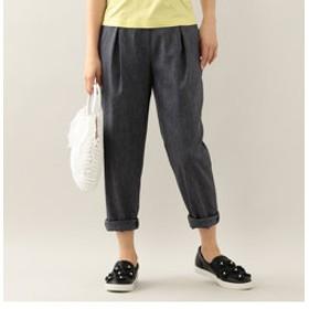 【TO BE CHIC:パンツ】ストレッチスラブキャロットパンツ