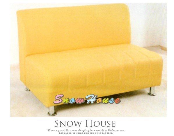 ╭☆雪之屋居家生活館☆╯R603-01 美式風格西餐廳沙發座椅(黃色)/造型沙發/雙人沙發/三人沙發/坐臥床/
