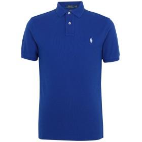 《期間限定セール開催中!》POLO RALPH LAUREN メンズ ポロシャツ アジュールブルー XS コットン 100% Slim Fit Polo