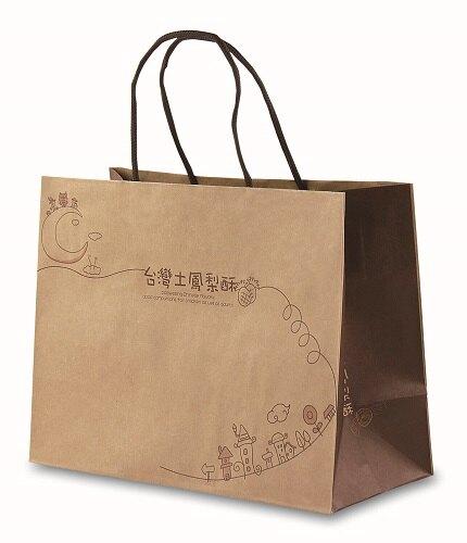 【基本量】台灣土鳳梨酥手提袋 / 100個