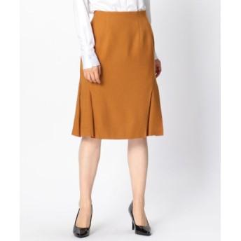 (NARA CAMICIE/ナラカミーチェ)サイドプリーツスカート/レディース オレンジ系 送料無料