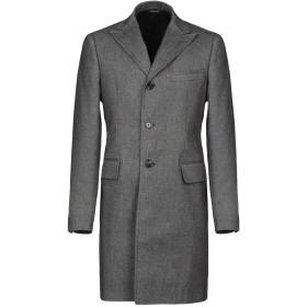 《セール開催中》TONELLO メンズ コート ブラック 46 コットン 99% / シルク 1%