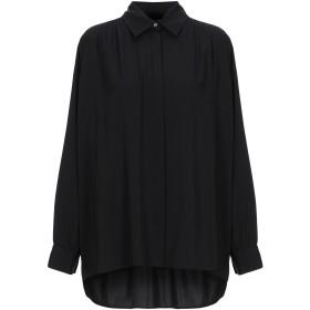 《期間限定セール開催中!》THE ROW レディース シャツ ブラック 6 シルク 93% / ポリウレタン 7%
