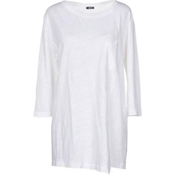 《期間限定セール開催中!》ASPESI レディース T シャツ ホワイト XS 100% 麻