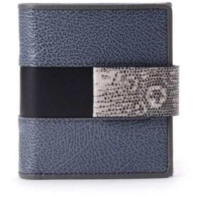 (HIROKO HAYASHI/ヒロコ ハヤシ)INVERTO(インベルト)薄型二つ折り財布/レディース ブルー(092)