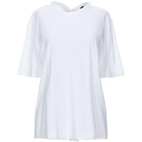 《9/20まで! 限定セール開催中》JOSEPH レディース T シャツ ホワイト S コットン 100%