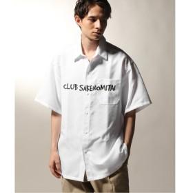 [マルイ] メンズシャツ(CLUB SAKE NOMITAI 酒飲倶楽部 ハンソデシャツ)/ジャーナルスタンダード レリューム(メンズ)(JOURNAL STANDARD relume)