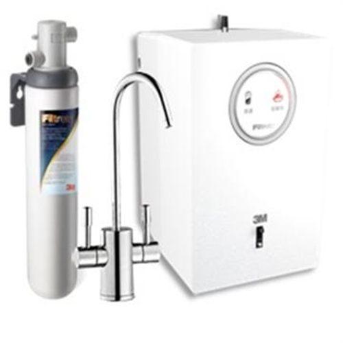 【3M】HEAT 1000高效能櫥下型雙溫飲水機(贈3M S004淨水器)(全省免費安裝)