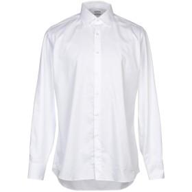 《セール開催中》XACUS メンズ シャツ ホワイト 42 コットン 100%