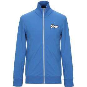 《期間限定 セール開催中》SHOESHINE メンズ スウェットシャツ ブルー S コットン 95% / ポリウレタン 5%