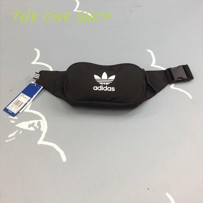 Adidas 愛迪達 三葉草 腰包 側背包 斜背包 隨身包 肩背包 包包 小腰包 黑色 黑白 小型 DV2400。人氣店家The One Shop 潮流鞋鋪 Keds 萬年店的adidas有最棒的商品