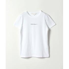 To b. by agnès b. トゥービー バイ アニエスベー W984 TS ロゴTシャツ