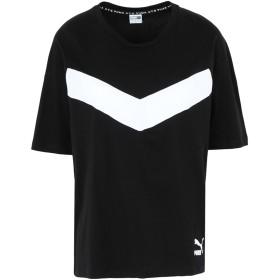 《セール開催中》PUMA レディース T シャツ ブラック XS コットン 100% XTG Colorblock Tee