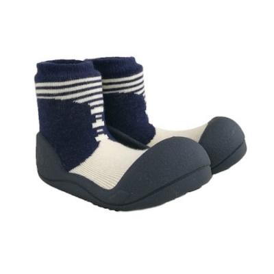 Attipas 快樂學步鞋 ASBO02 英倫紳士灰