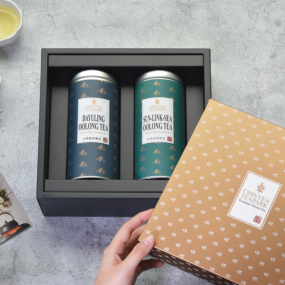 《沁意》臻藏 • 台灣極品高冷茶禮盒(三款任選)