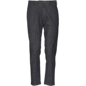 《9/20まで! 限定セール開催中》PT01 GHOST PROJECT メンズ パンツ ブラック 46 コットン 98% / ポリウレタン 2%