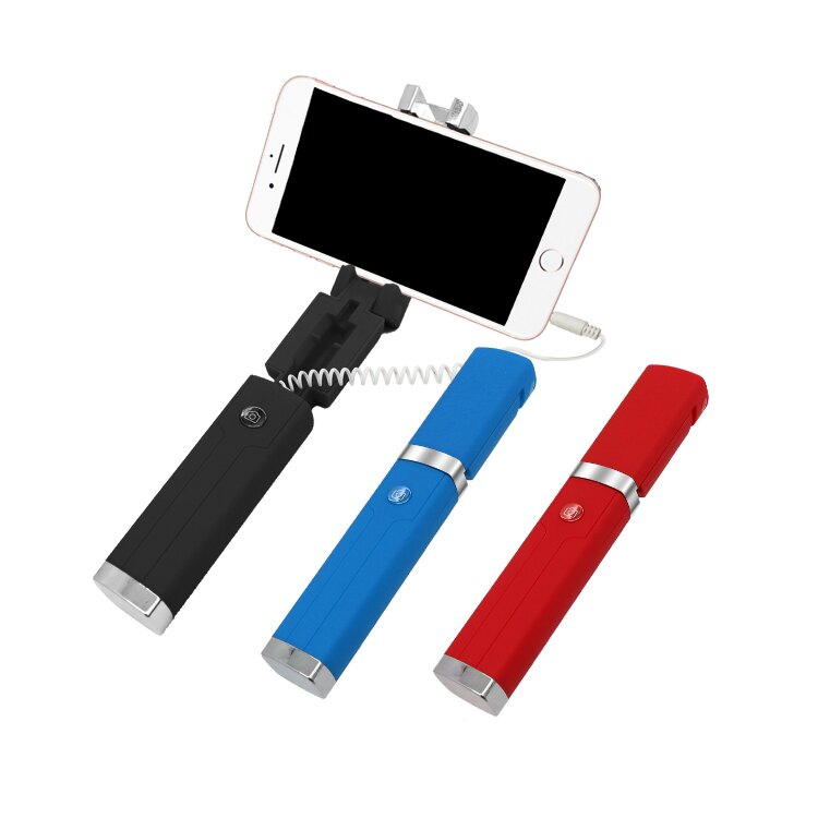 GLiTTER 口紅智能自拍桿 手機線控自拍桿 手機夾 手機架 自拍棒 自拍器 自拍腳架 手機腳架